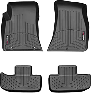 WeatherTech Custom Fit FloorLiner for Dodge Challenger -1st & 2nd Row (Black)