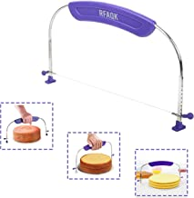 RFAQK 1 PCs Cake Leveler & Slicer for Levelling Layers. Cake Decorating Tool and Accessory for Slicing. Baking supplies an...