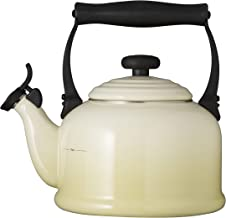Le Creuset Traditional Kettle with Whistle, 2.1 L, Dune