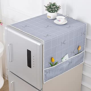 Household Refrigerator Cover Towel Dust Cover Electric Appliance Dust Cloth Multi-Purpose Washing Machine Cover