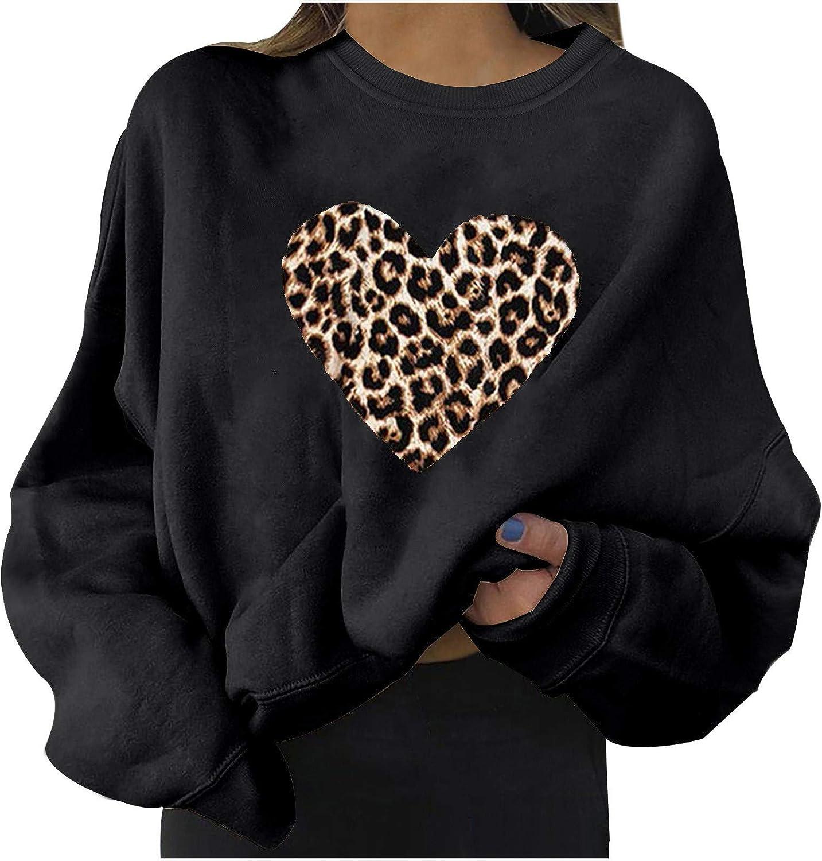 Eduavar Halloween Shirts for Women Pumpkin Skull Printed Sweater Long Sleeve Pullover Blouse Tops Lightweight Sweatshirt