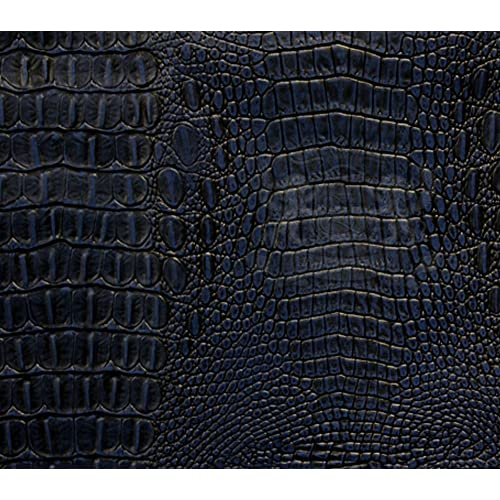 Blue Leather Upholstery By The Yard Amazon Com