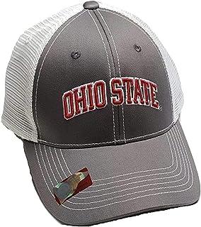 Ohio State Buckeyes Adjustable Cap Mesh Back Hat