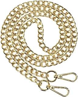 LIFEMATE Replacement Iron Flat Chain Strap Handbag Chains Accessories Purse Straps Shoulder Crossbody Straps