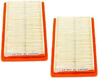 Kohler 14 083 01-S1 Pack of 2 Air Filters