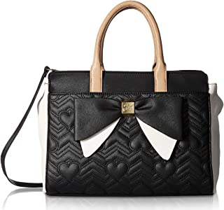 Betsey Johnson Womens Bag In Bag Satchel