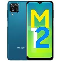 [For Axis card Users] Samsung Galaxy M12 (Blue,4GB RAM, 64GB Storage) 6000 mAh with 8nm Processor