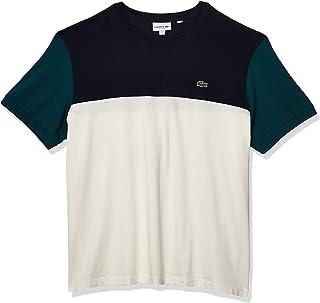 Men's Short Sleeve Regular Fit Colorblock Jersey T-Shirt