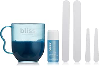 Bliss Poetic Waxing Hair Removal Kit | No-Strip Wax | Straight-from-the-Spa | Safe, Low-Temp, Microwaveable | Paraben Free, Cruelty Free | 5.3 fl oz