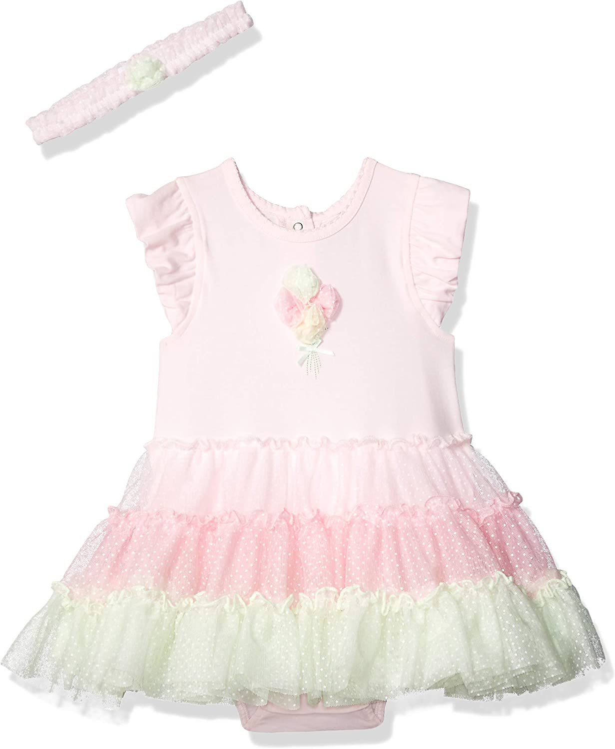 Little Me Baby-Girls Tutu Special Campaign Popover Super beauty product restock quality top Headband and
