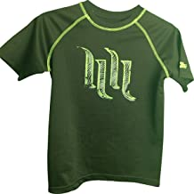Hart & Huntington Distressed Graphic Dri Fit Youth T-Shirt Large 10/12 Black