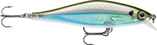 Rapala Shadow Rap 11 Moss Back Shiner Lure, Multi, One Size (SDR11MBS)