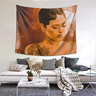 Wonderbce Tapestry 6051inch Kehlani Beauty Tapestry, Wall Tapestry, Tapestry Scenery Lhippie Cherry Blossoms Star