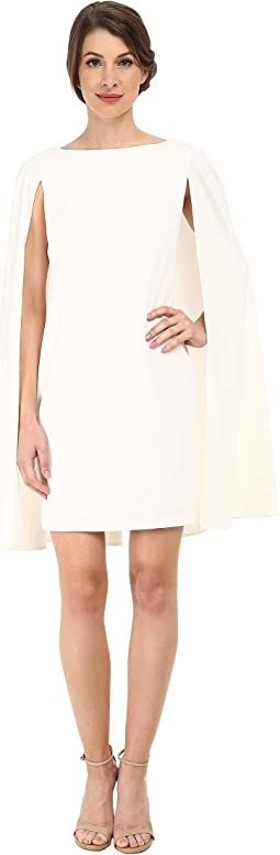 Adrianna Papell - Structured Cape Sheath Dress