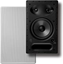 Polk 65-RT In-Wall Speaker - The Vanishing Series with Premium Sound | Power Port & Paintable Wafer-Thin Sheer Grille | Dual Band-Pass Bass Ports for Low Frequencies (Renewed)