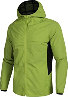 Men's Running Coat Lightweight Activewear Breathable Cycling Jacket