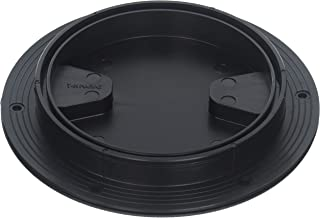 T-H Marine DPS-4-1-DP Sure-Seal Screw Out Deck Plate - Black,  4