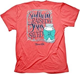 Women's T-Shirt Southern RaisedCoral Silk