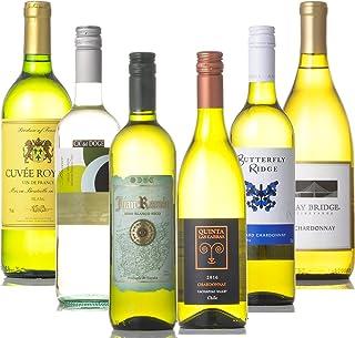 世界の有名産地 白ワイン 飲み比べ 6本セット (750ml×6本)
