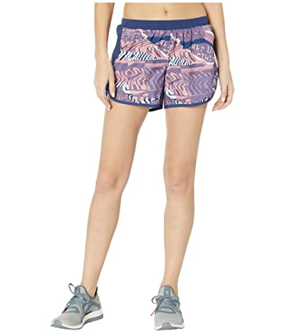 adidas M20 City Clash Shorts (Dash Grey/Glory Pink/Tech Indigo) Women