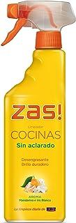 Zas! by KH-7 - Limpiador cocinas sin aclarado - Desengrasante aroma de mandarina e iris blanco - 750 ml