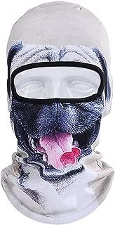 Animal Cat Dog/Ski Mask Neck Warmer Face Scarf/Neck Gaiter Cover ski Snowboard Helmet Liner for Music Festivals Halloween Costume Party