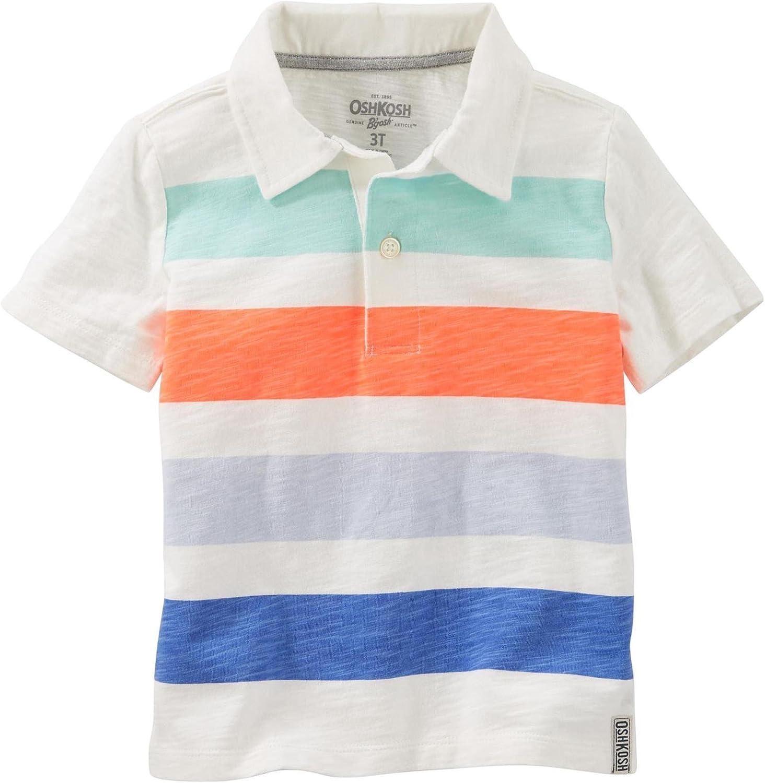 OshKosh B'Gosh Boys' Knit Polo Henley 31988010