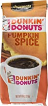 Dunkin' Donuts Pumpkin Spice Flavored Ground Coffee, 11 Ounce (Pack of 1)