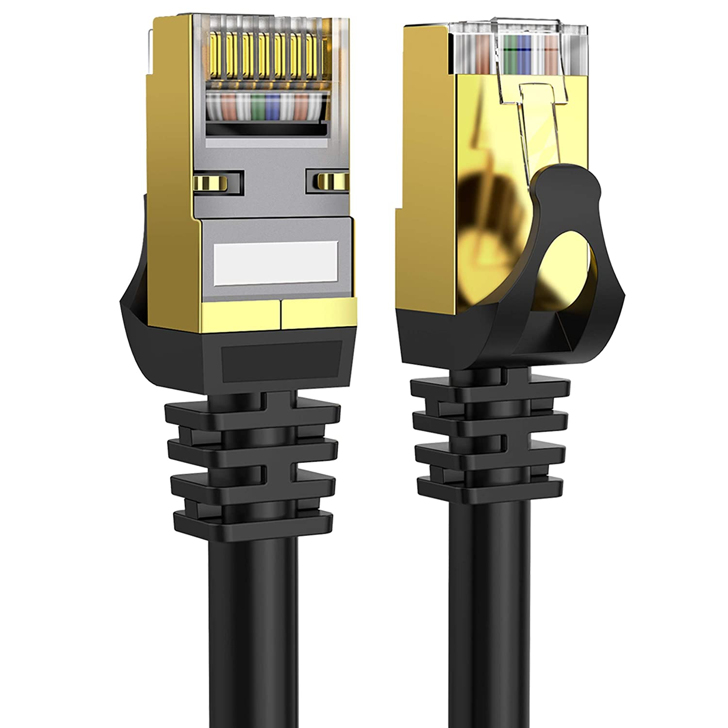 Cat 8 National products Ethernet Cable 75 ft 40Gbps Shielded 2000Mh 26AWG Lastest Ranking TOP14