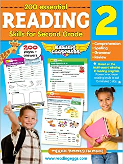 Reading for 2nd Grade - 200 Essential Reading Skills (Reading Eggs)