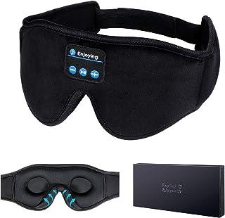 Sleep Headphones,3D Sleep Mask Bluetooth 5.0 Wireless Music Eye Mask, LC-dolida Sleeping Headphones for Side Sleepers, with Ultra-Thin HD Stereo Speakers Perfect for Sleeping, Air Travel, Meditation