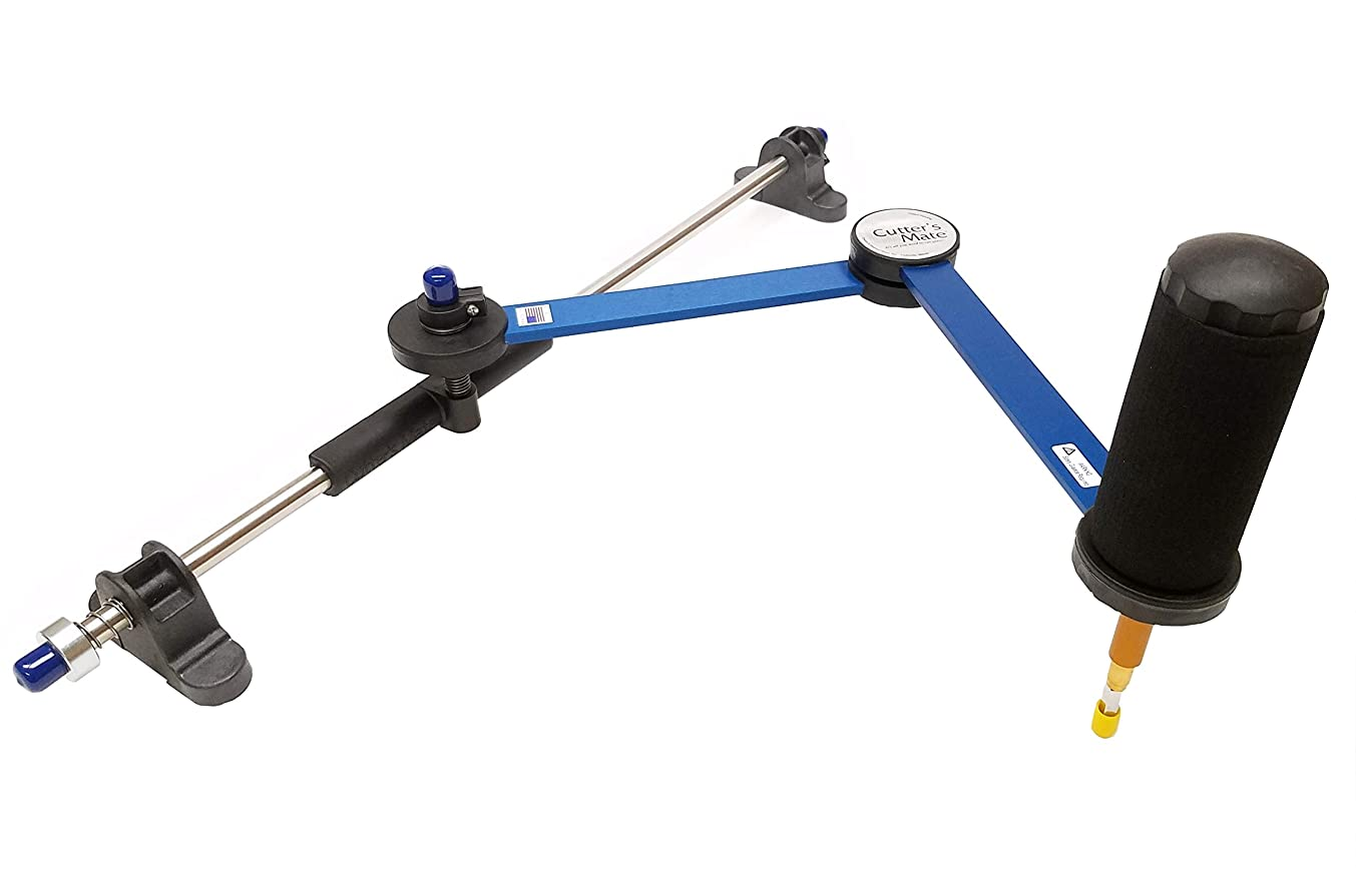 Creator's Cutter's Mate Glass Cutter With 16 Inch Arm and 23 Inch Slidebar - Waffle Grids NOT Included - Made In The USA