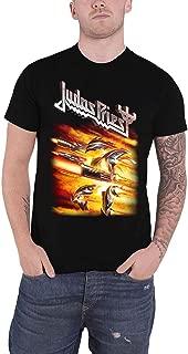 Judas Priest T Shirt Firepower Album Band Logo Official Mens Black Size XL
