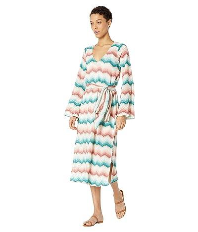 Show Me Your Mumu Getaway Midi Dress (Catch Waves Knit) Women