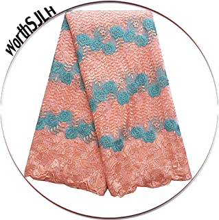 Best net embroidery fabric online Reviews