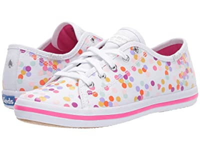 Keds x kate spade new york Kids Kickstart (Little Kid/Big Kid) (Confetti Print) Girl