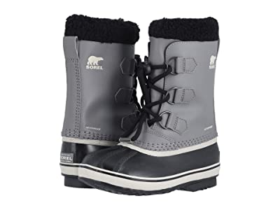 SOREL Kids Yoot Pactm TP (Little Kid/Big Kid) (Quarry/Black) Kids Shoes