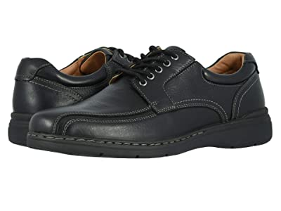Dockers Maclaren (Black Soft Tumbled Full Grain) Men