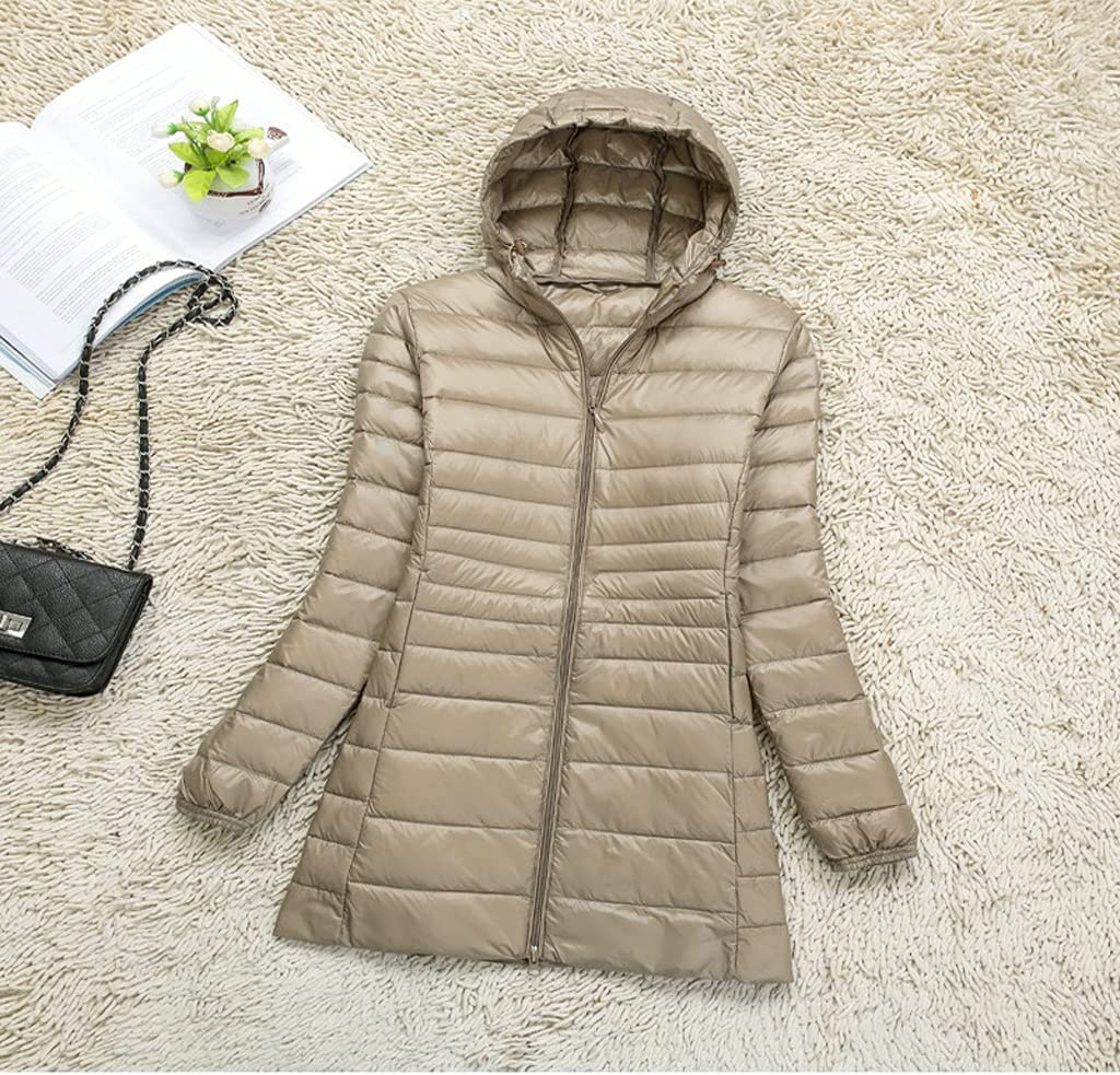 CHNOOI Light Thin Large Size Wide-Wai High material Jacket Casual Down Challenge the lowest price of Japan ☆ Women's