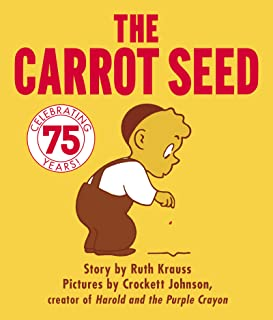The Carrot Seed Board Book: 75th Anniversary