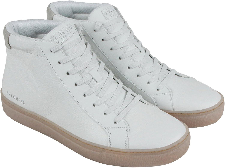 Skechers Men's Side Street Arkline White 9 D US