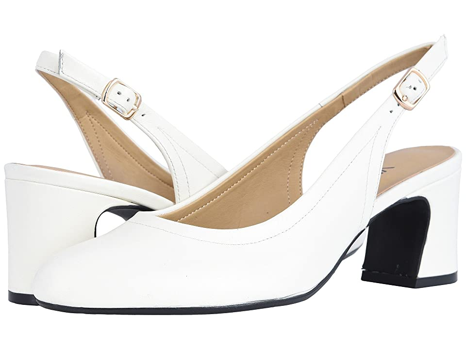 Vaneli Darby (Latte Nappa/Gold Buckle) Women