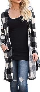 womens black and white buffalo plaid shirt