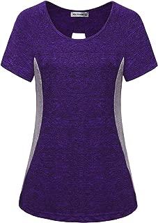 Women's Yoga Tops Active Wear Dri Fit Shirts Workout Clothes