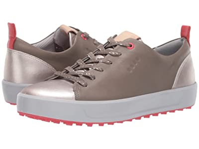 ECCO Golf Soft Metallic Hydromax(r) (Warm Grey) Women