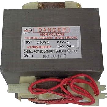 GE WB27X10868 HV Transformer for Microwave 48172018263   eBay