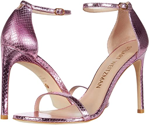 India Pink Mini Printed Metallic Snake