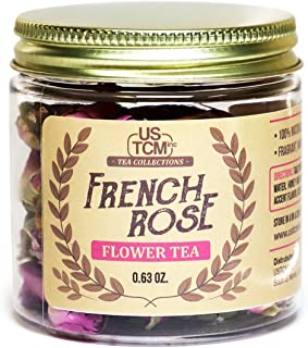 French Rose Flower Tea Fragrant Whole Rose Buds 100% Natural (0.63)
