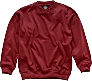 Dickies SH11125 RD S Size Small Sweatshirt - Red