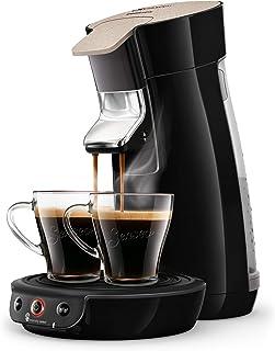 Philips Senseo Viva Cafe Eco HD6562/32 kapsüllü kahve makinesi – sınırlı sayıda 80 pedli ücretsiz, siyah